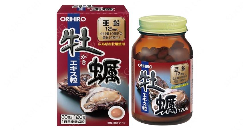 Viên uống tinh chất hàu tươi Orihiro