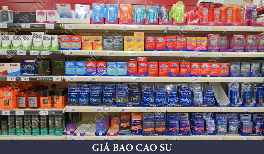 Giá bao cao su tại thị trường Vietnam