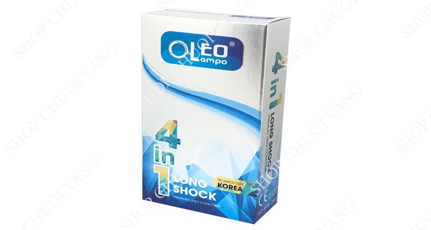 Bao cao su kéo dài thời gian Oleo Lampo 4in1