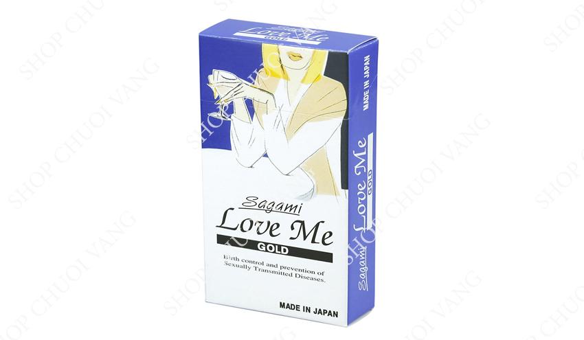 Sagami Love Me Gold
