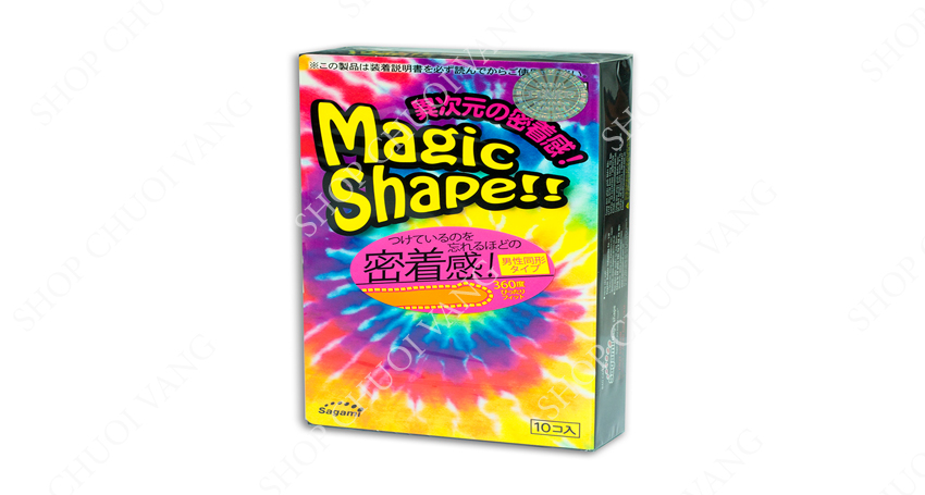 bao cao su size nhỏ Sagami Magic Shape