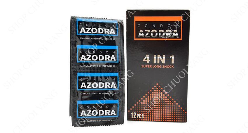 hãng bao cao su Azodra 4IN1