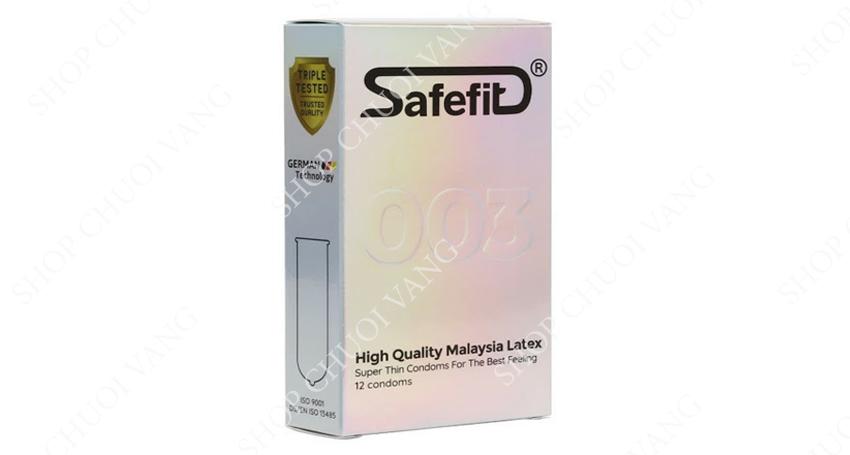 hãng bao cao su Safefit 003