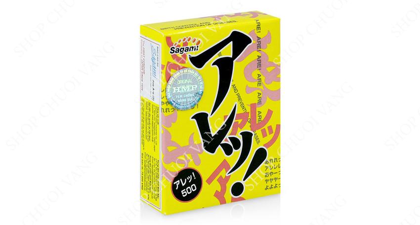 hãng bao cao su Sagami