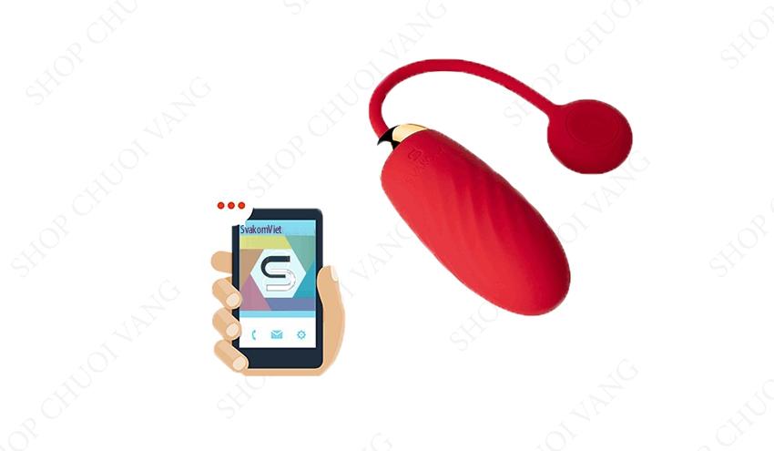 Trứng rung điều khiển bằng điện thoại